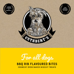 Dog biscuits BBQ flavour