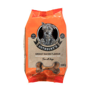 Smokey Bacon dog biscuits