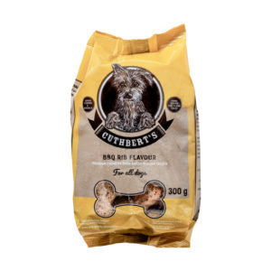 Dog biscuits BBQ flavour